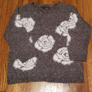 White Rose Sweater